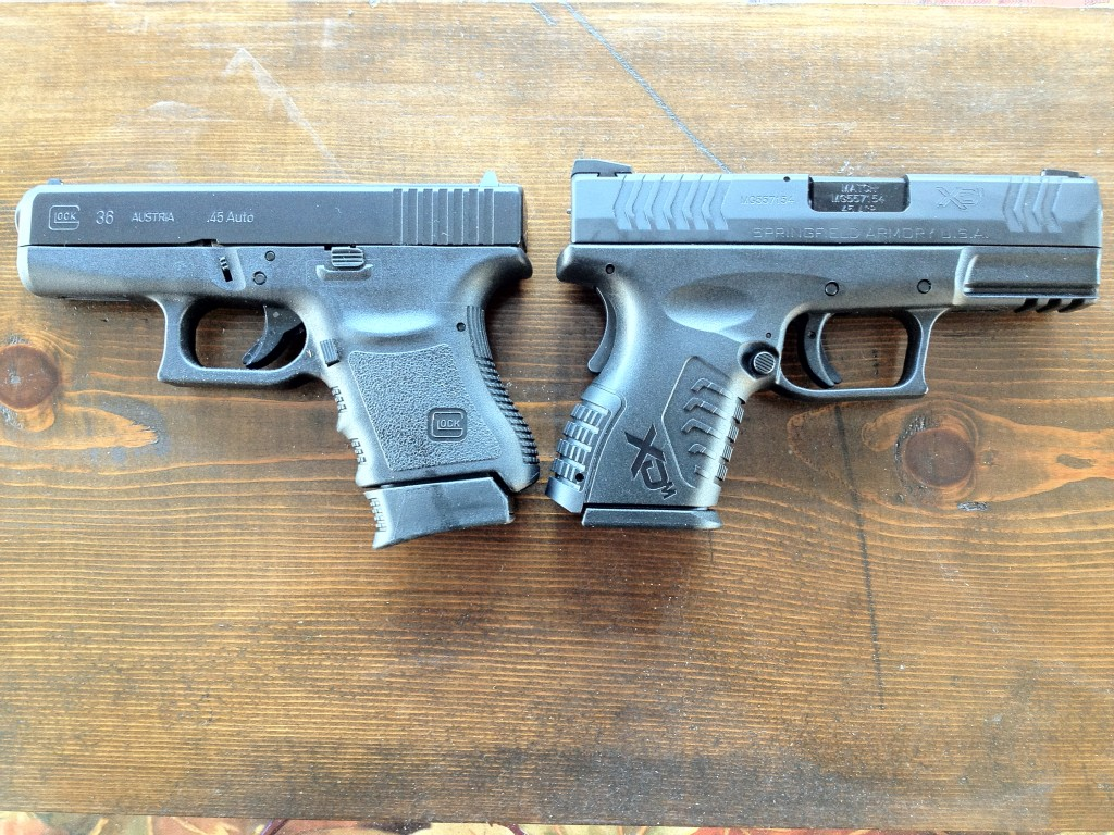 XDm .45 Compact v. Glock 36