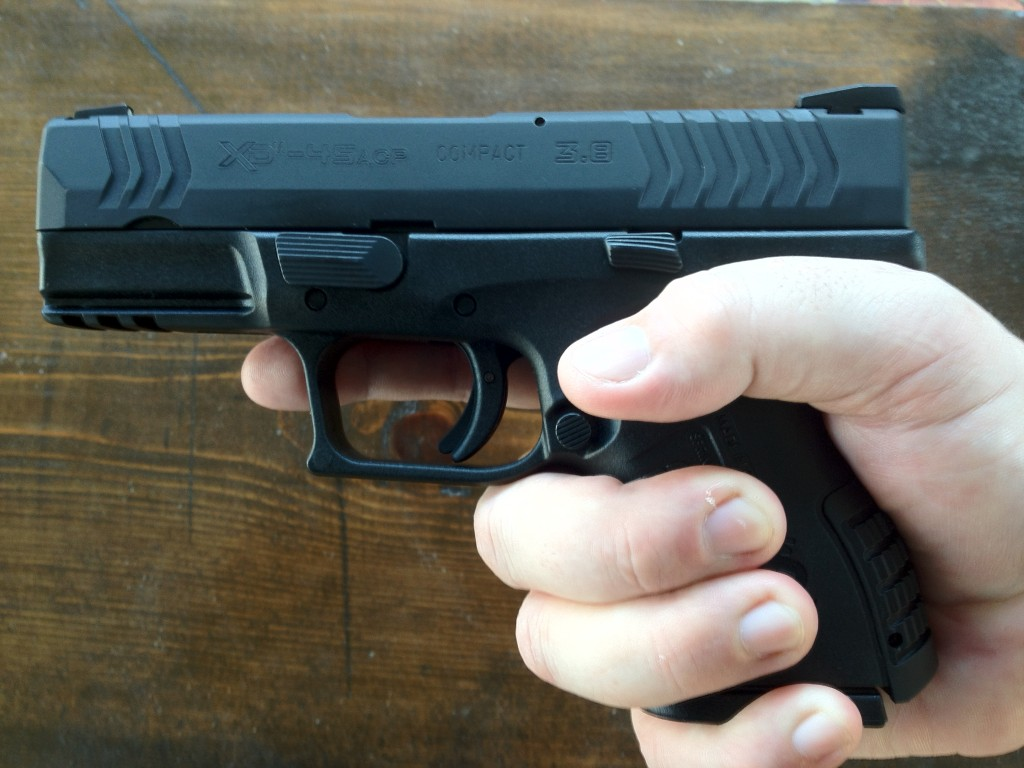 XDm .45 Compact Grip