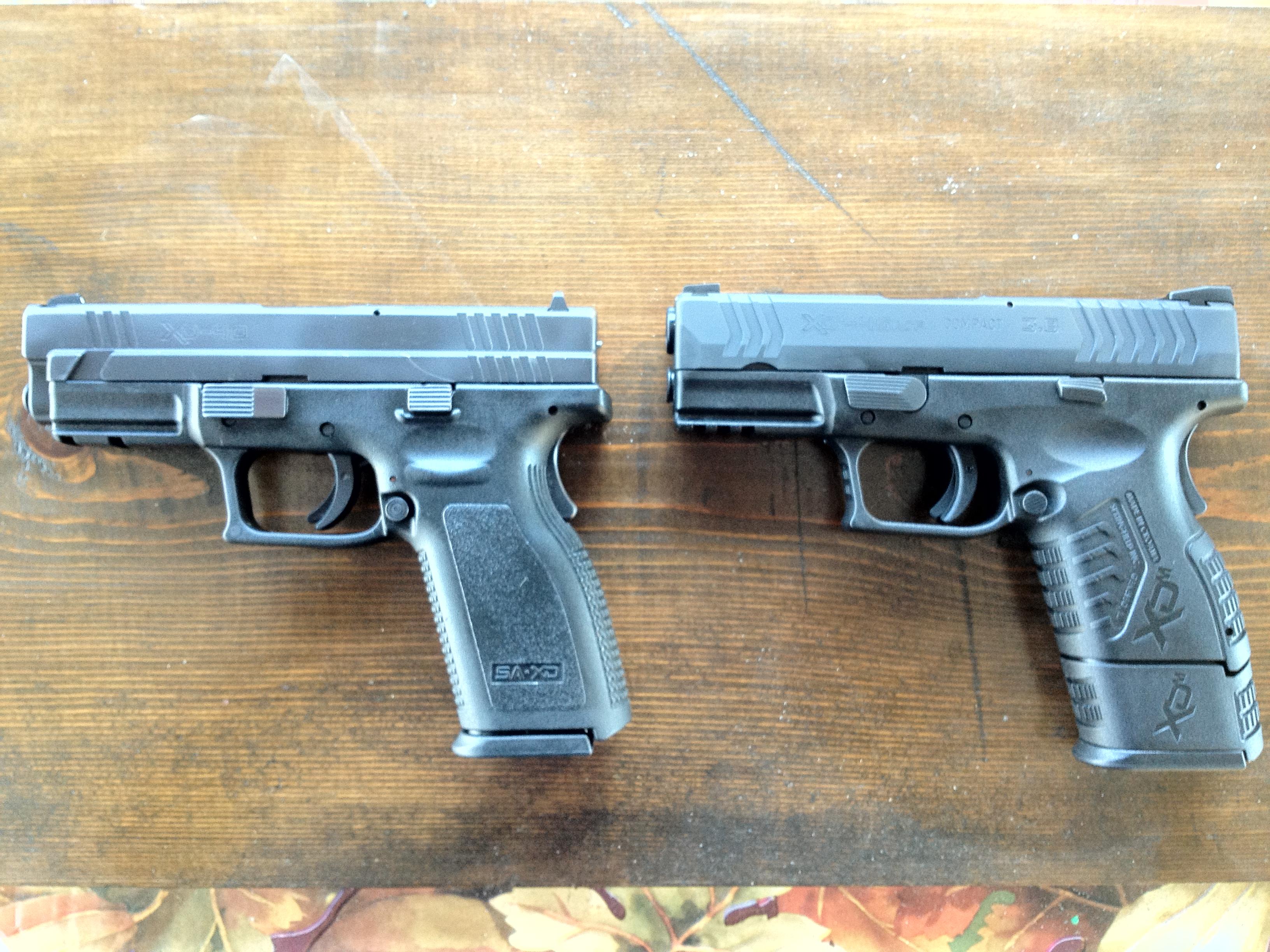 XDm  45 ACP 3 8″ Compact is the Tardis of Handguns | All