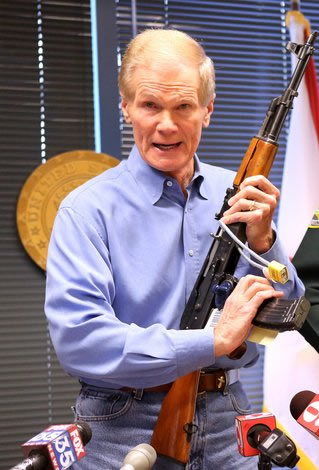 Senator Bill Nelson Open Carry Ban Violation