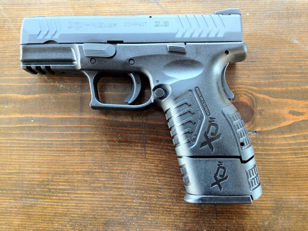 XDm 3.8 Compact .45 with Full Sized Mag